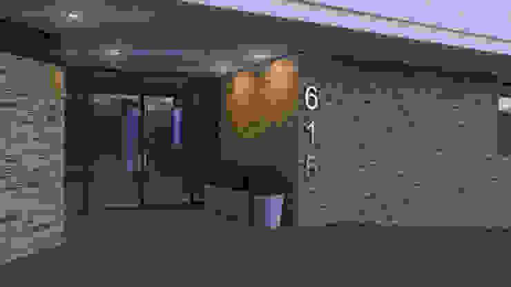 Edificio Chrestia Puertas y ventanas modernas de D+D Studio Moderno
