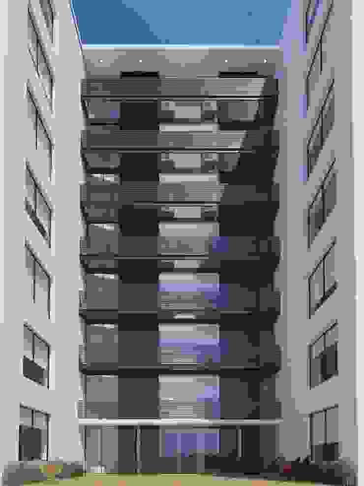 Modern style balcony, porch & terrace by D+D Studio Modern