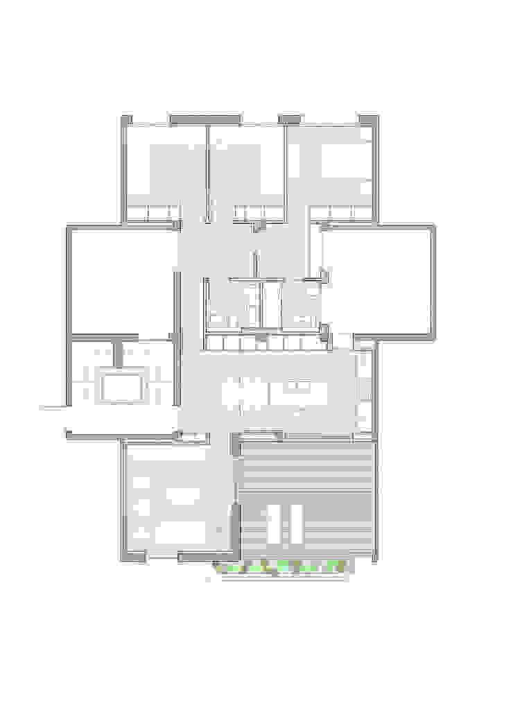 Reforma de vivienda ático en Valencia Cocinas de estilo minimalista de DG Arquitecto Valencia Minimalista