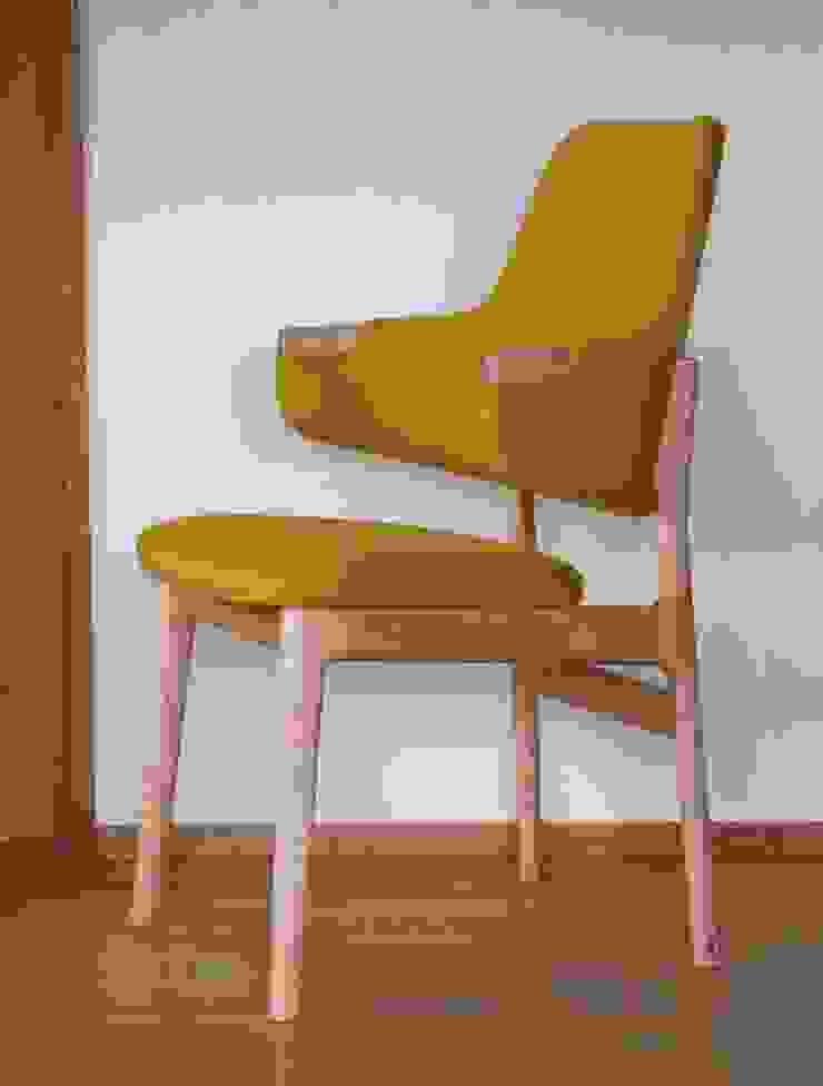 K CHAIR: isDesignが手掛けた折衷的なです。,オリジナル 木 木目調