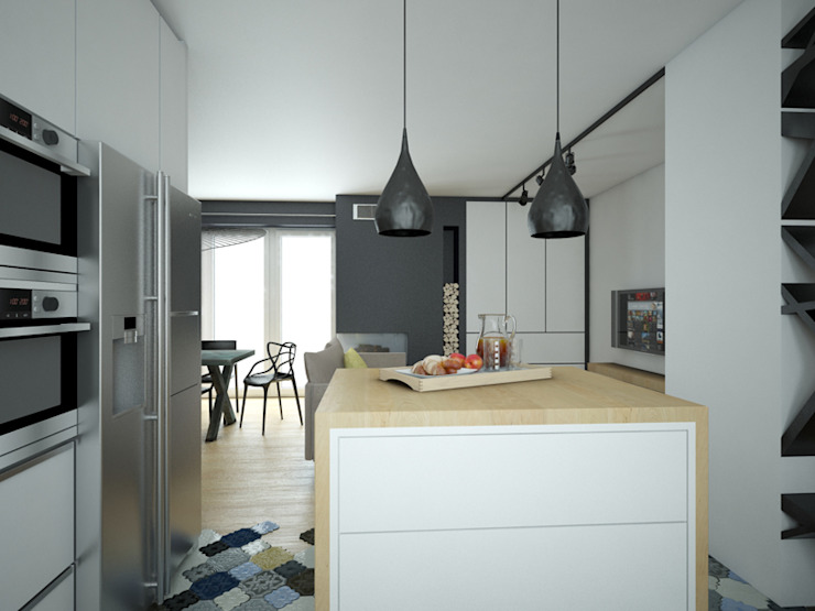 Modern style kitchen by MArker Modern