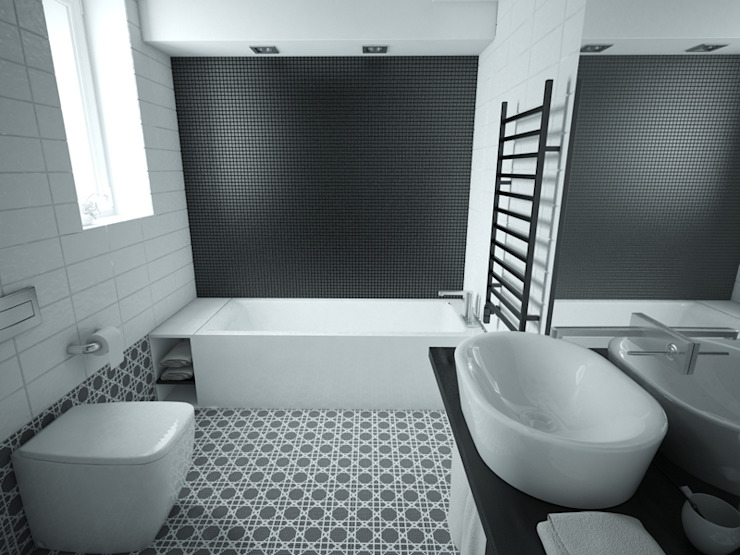 Modern style bathrooms by MArker Modern Ceramic