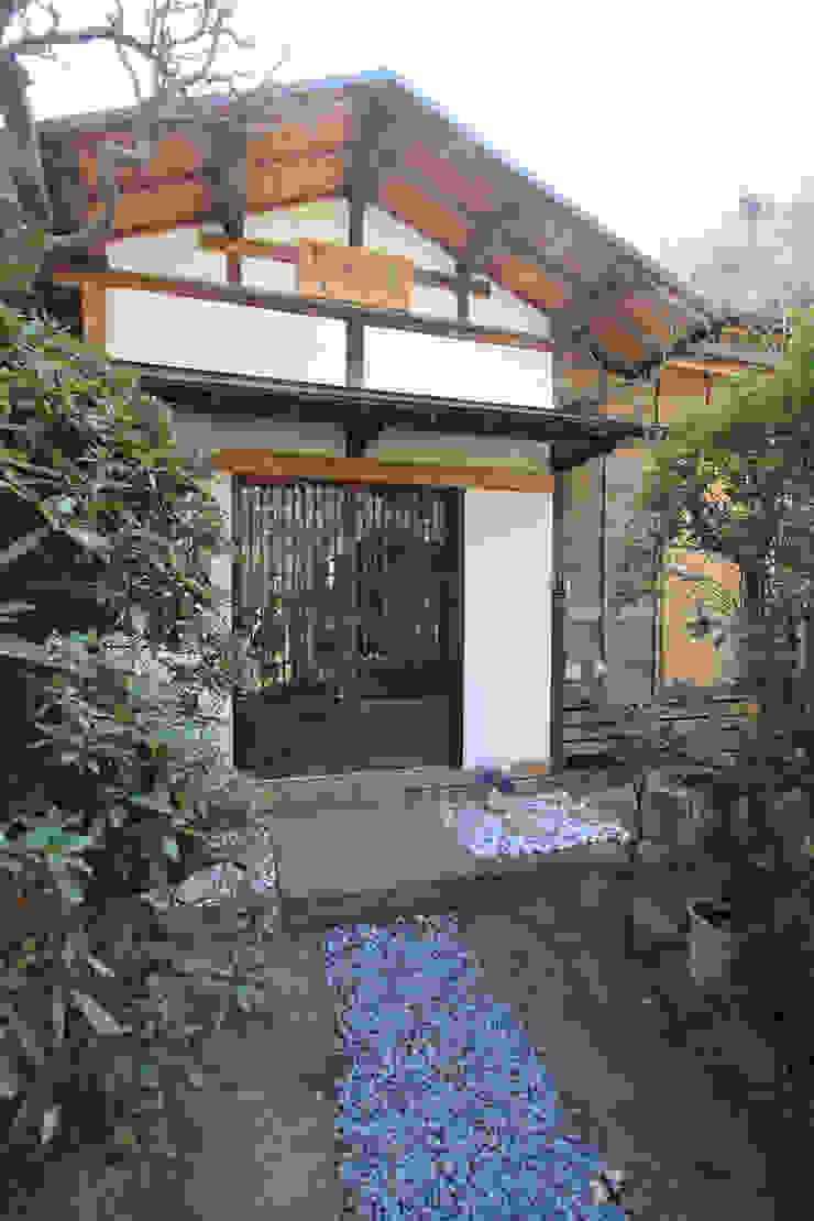 築100年の古民家耐震リノベーション 日本家屋・アジアの家 の 菅原浩太建築設計事務所 和風 木 木目調