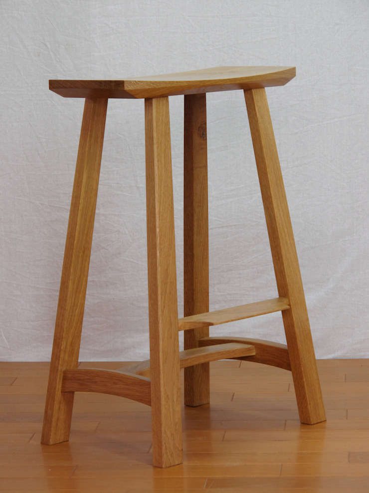 木の家具 quiet furniture of wood Sala da pranzoSedie & Panche Legno