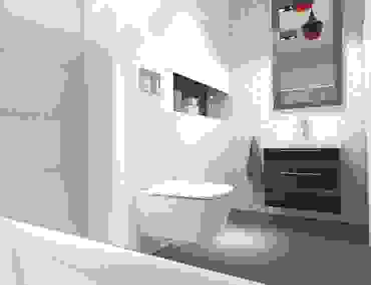 Bright bathroom Nowoczesna łazienka od Arch/tecture Nowoczesny