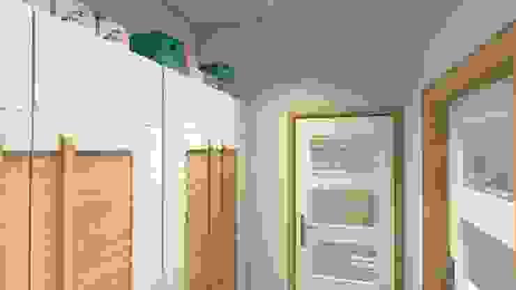 Mały Apartament w Afryce - garderoba od Wizja Wnętrza - projekty i aranżacje