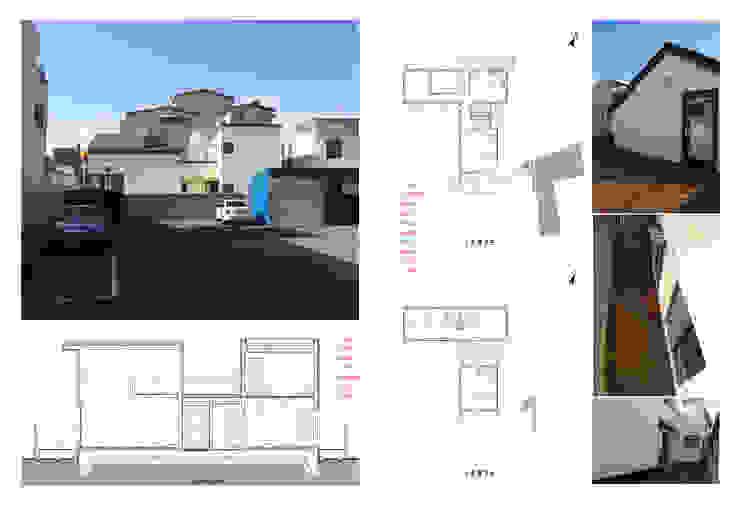 관효재(전주주택) 모던스타일 주택 by hueau 모던 콘크리트