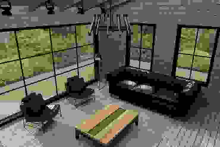 Industrialny salon od Update İç Mimarlık Industrialny