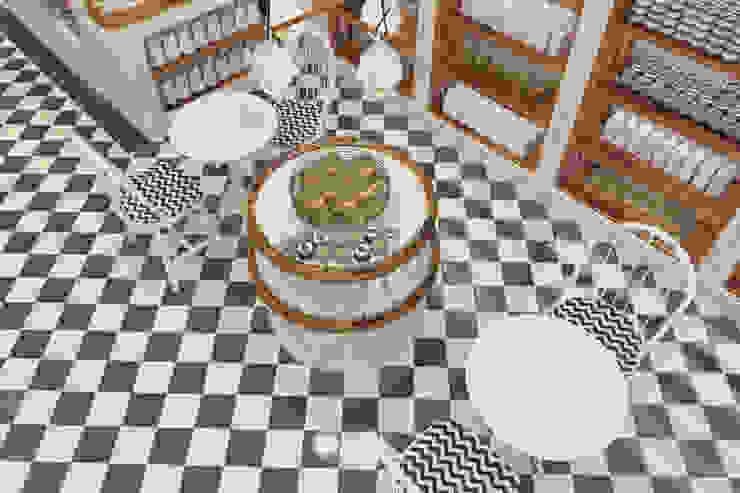 Et Keyfi Butcher's Shop Update İç Mimarlık Eklektik Seramik