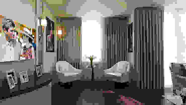 студия визуализации и дизайна интерьера '3dm2' Living room