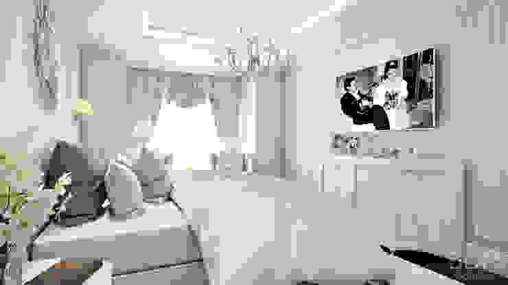 студия визуализации и дизайна интерьера '3dm2' Classic style bedroom