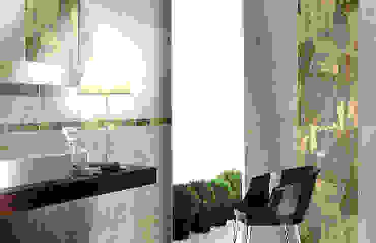 CERAMICHE BRENNERO SPA Industrial style living room