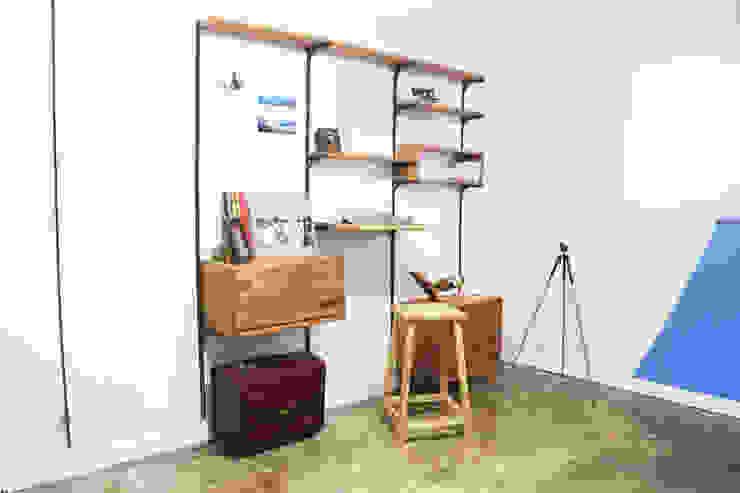 Wall Unit Set (모듈형 찬넬 선반) 모던스타일 거실 by Hash 모던