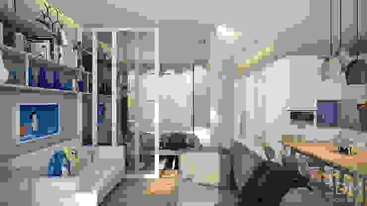 by студия визуализации и дизайна интерьера '3dm2' Scandinavian