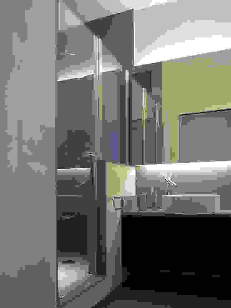 Minimalist style bathroom by PAZdesign Minimalist