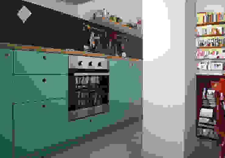 Atelier delle Verdure Eclectic style kitchen Turquoise