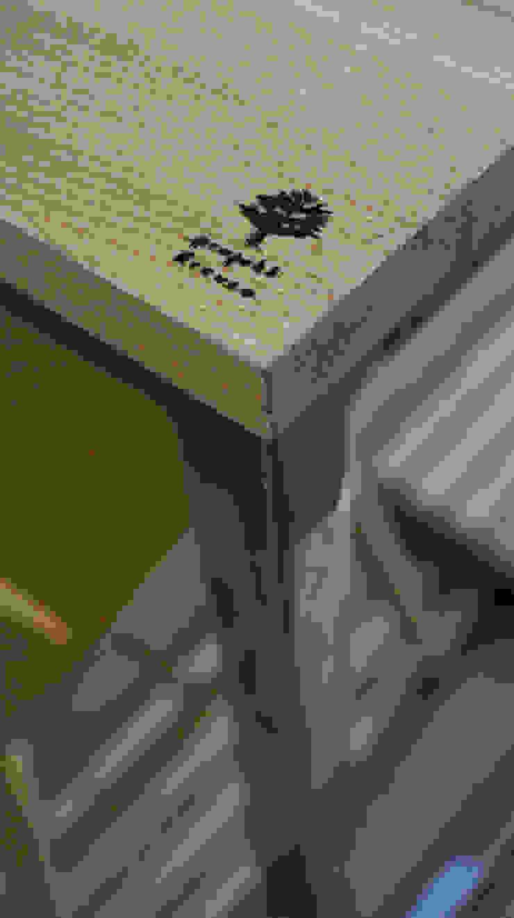 Stół, biurko, Industrial Dining Oak od projekt drewno Industrialny Żelazo/Stal