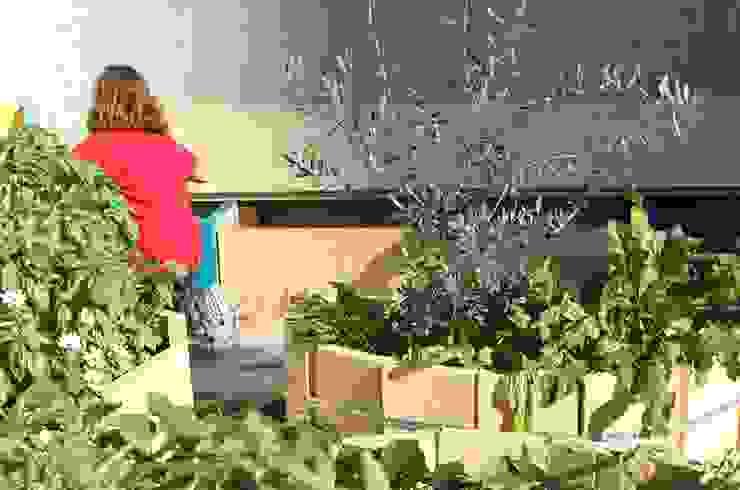 L'orto giardino dei bambini Giardino in stile rustico di Atelier delle Verdure Rustico