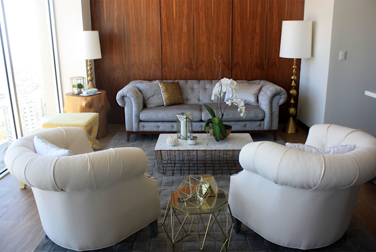 Nomada Design Studio Classic style living room