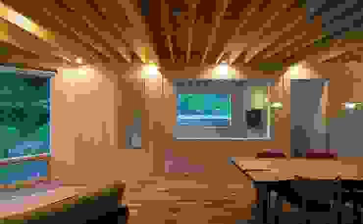 富谷洋介建築設計 Livings de estilo moderno
