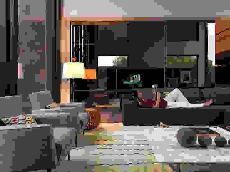 Abito Casa Salas de estar modernas por Todos Arquitetura Moderno