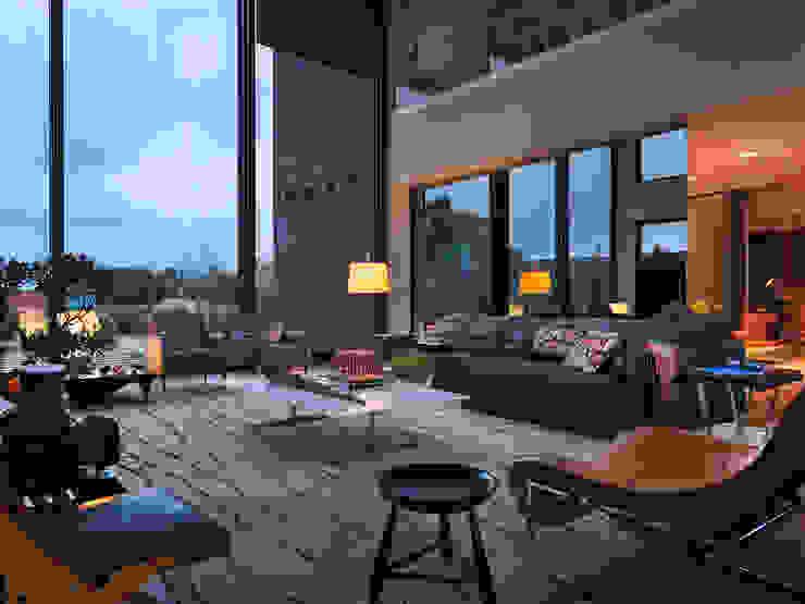 Abito Casa Varandas, alpendres e terraços modernos por Todos Arquitetura Moderno