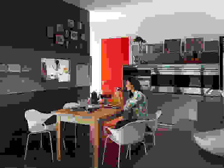 Abito Casa Salas de jantar modernas por Todos Arquitetura Moderno