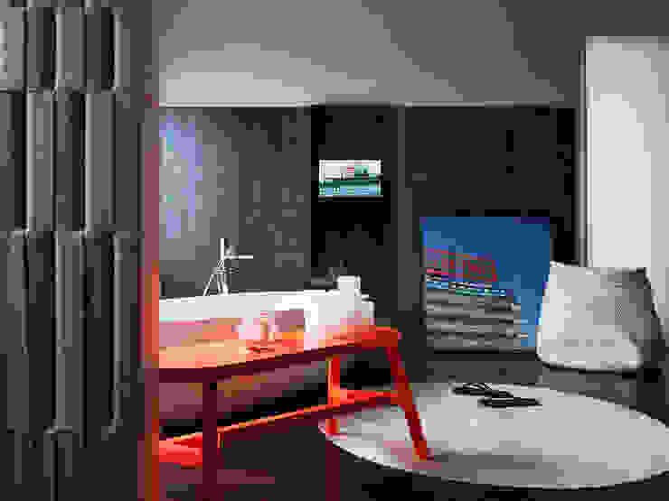 Abito Casa Banheiros modernos por Todos Arquitetura Moderno