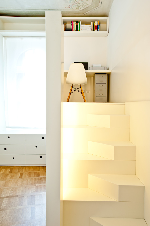 Casa a due altezze disegnoinopera Studio in stile mediterraneo