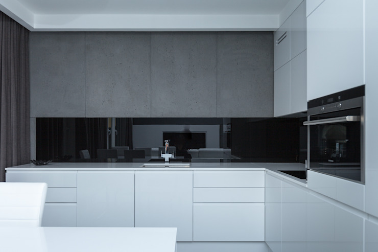 Kitchen by Base Architekci,