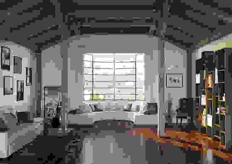 Render Modern living room by asf Modern