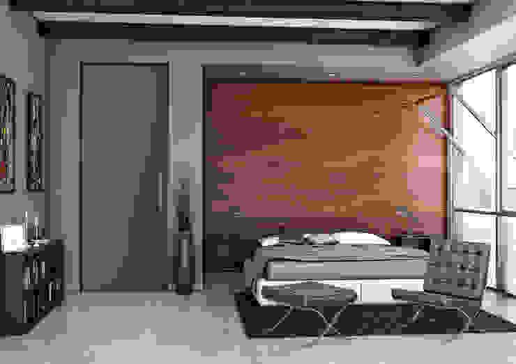 Render Modern style bedroom by asf Modern