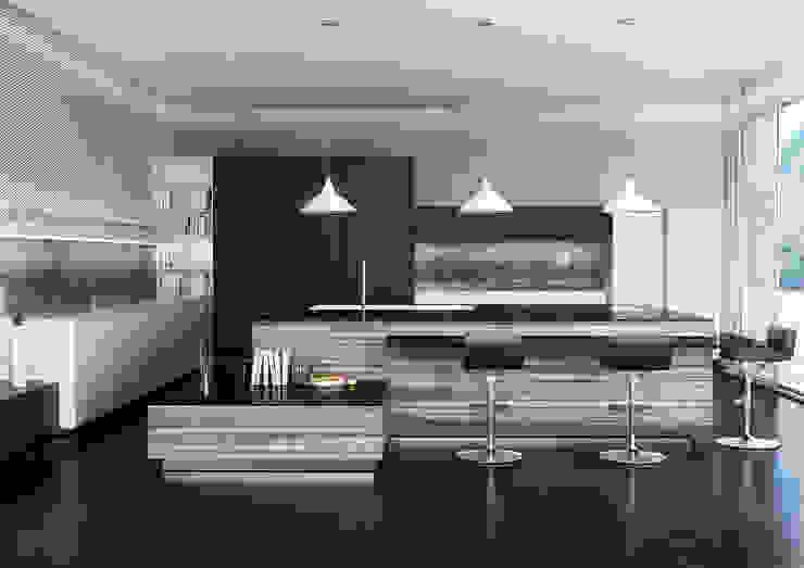 Render Moderne Esszimmer von asf Modern