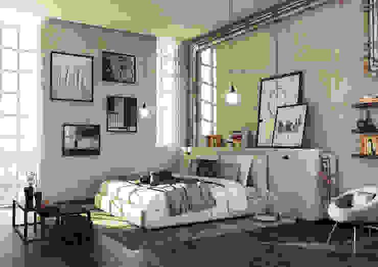 Render Moderne Schlafzimmer von asf Modern