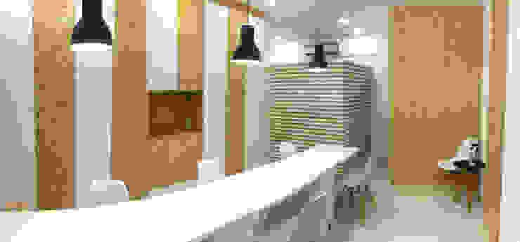 eco.office | coworking por Tó Liss Minimalista OSB