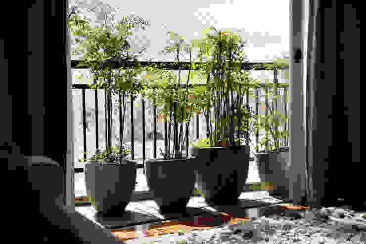 Vanderlei: Terraços  por Camila Vicari Arquitetura da Paisagem