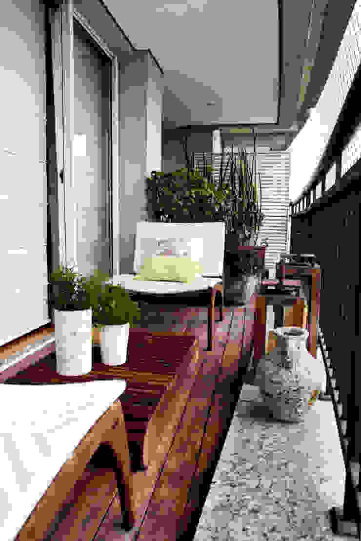 Vanderlei Camila Vicari Arquitetura da Paisagem Modern Terrace