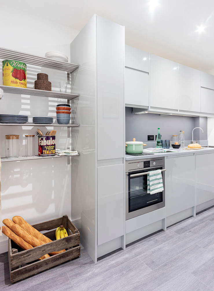 Studio Living by WN Interiors 現代廚房設計點子、靈感&圖片 根據 WN Interiors 現代風