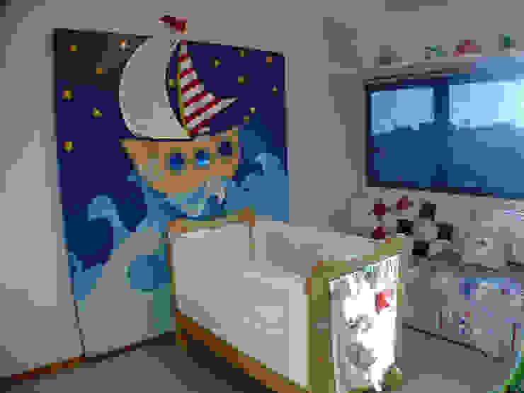 Marcela Lyra Miranda Детская комната в стиле модерн от Complementto D Модерн
