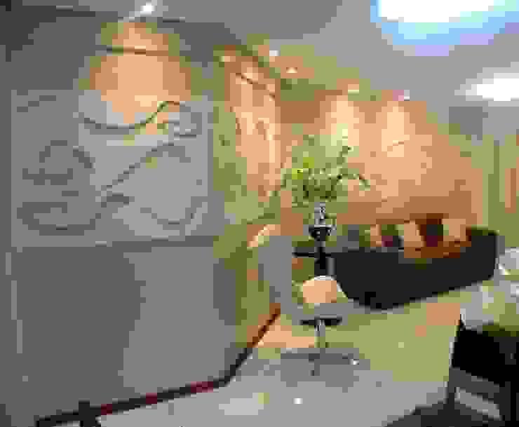 Painel sala de estar Corredores, halls e escadas modernos por Complementto D Moderno