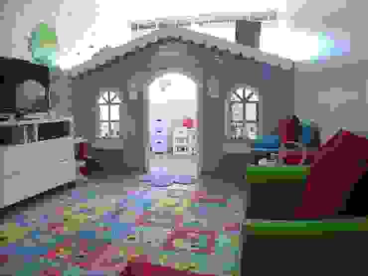 Projeto Casa Cor Alagoas - revestimento de parede Quarto infantil moderno por Complementto D Moderno