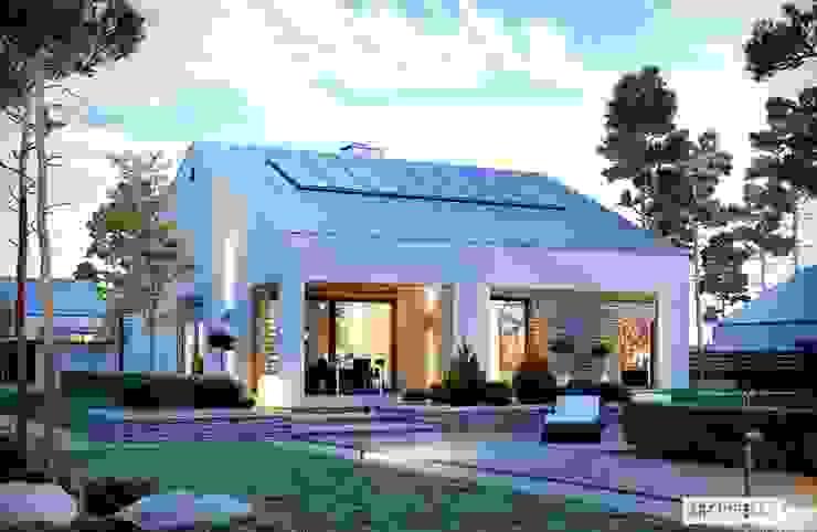 Pracownia Projektowa ARCHIPELAG 現代房屋設計點子、靈感 & 圖片