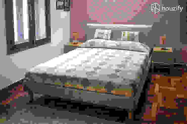 Chand Residence Modern style bedroom by Studio Ezube Modern