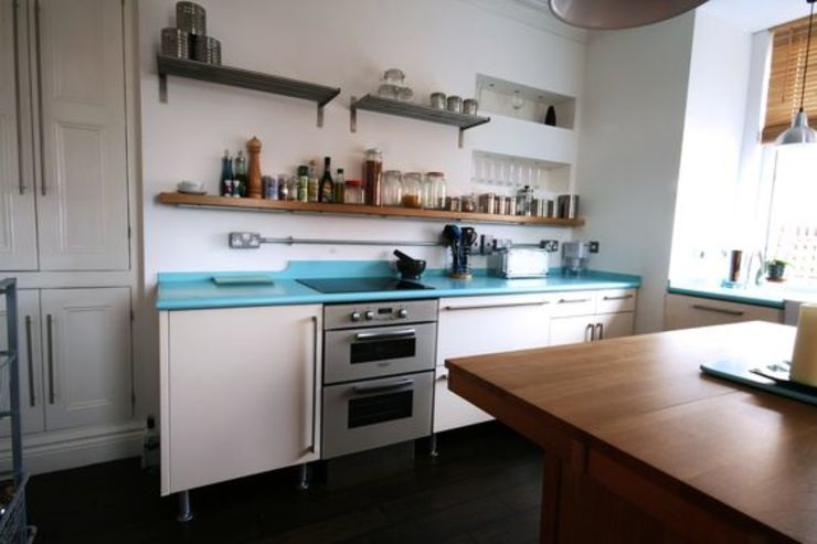 Bespoke 1950's inspired kitchen 에클레틱 주방 by Redesign 에클레틱 (Eclectic)