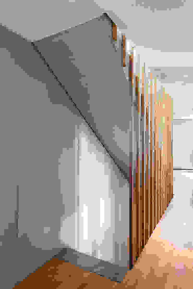 Wohnhaus in Elzach René Lamb Fotodesign GmbH Moderner Flur, Diele & Treppenhaus