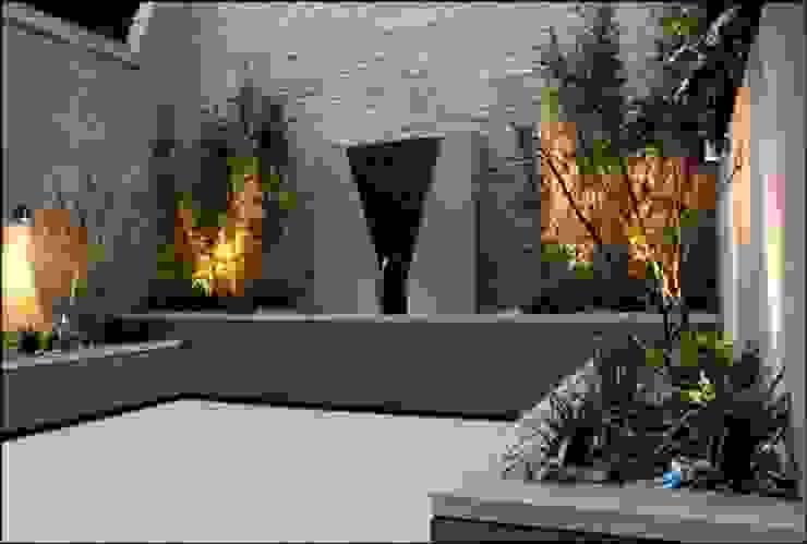 Jardines de estilo clásico de Akasha espacios iluminados Clásico