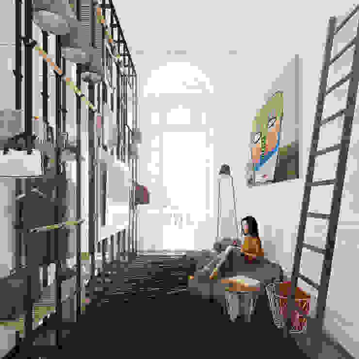 Proyecto interior, Casa FOA. de DOD studio Moderno