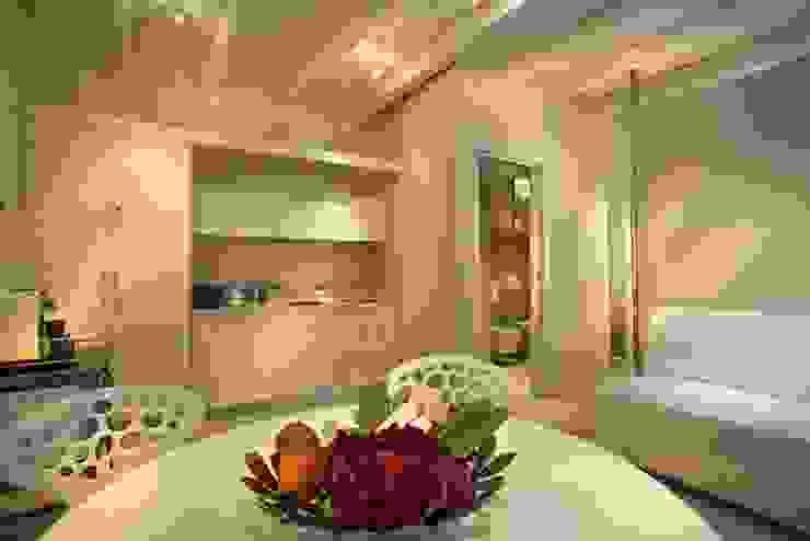 Progetti Modern dining room by studio di architettura Sara Fraccaroli Modern