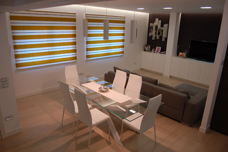 Villa ad Aci Castello Modern dining room by Archideo Studio di Architettura Modern