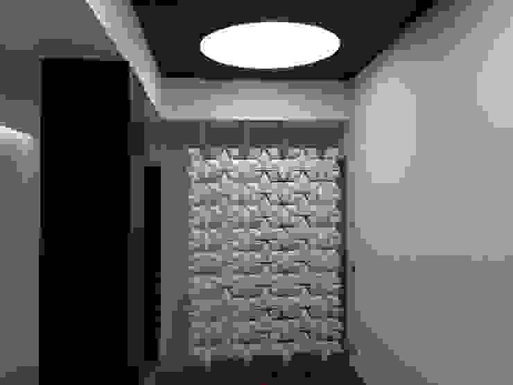 Villa ad Aci Castello Modern corridor, hallway & stairs by Archideo Studio di Architettura Modern